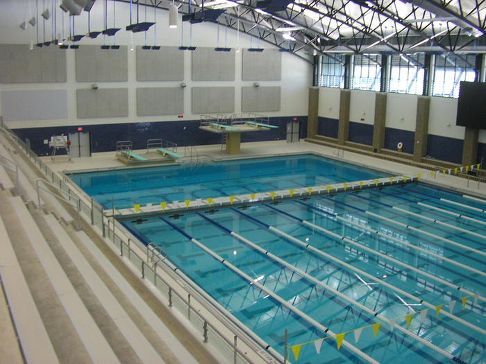 Zeeland West High School Pool Gym Additions Portfolio Fence Consultants Of West Michigan