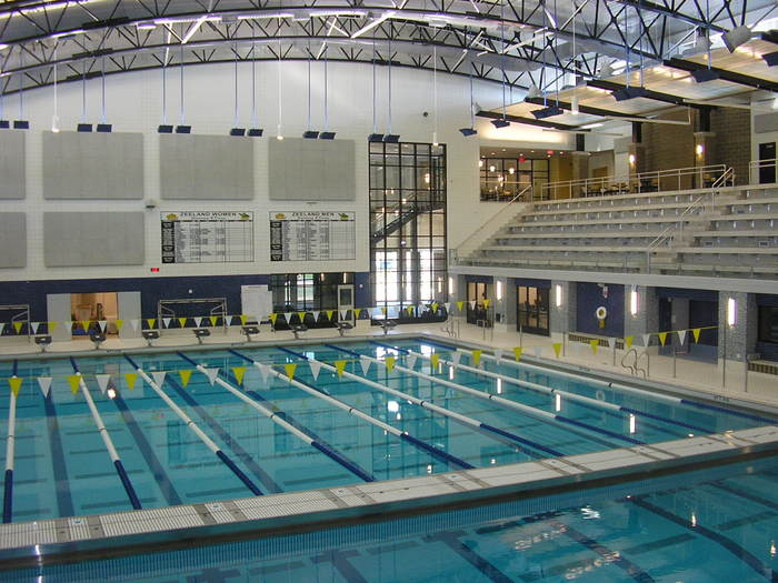 Zeeland West High School Pool Gym Additions Portfolio Fence Consultants Of West Michigan
