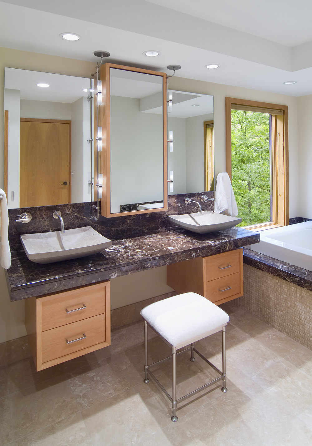 Master Bathroom Remodeling Building Cincinnati Project