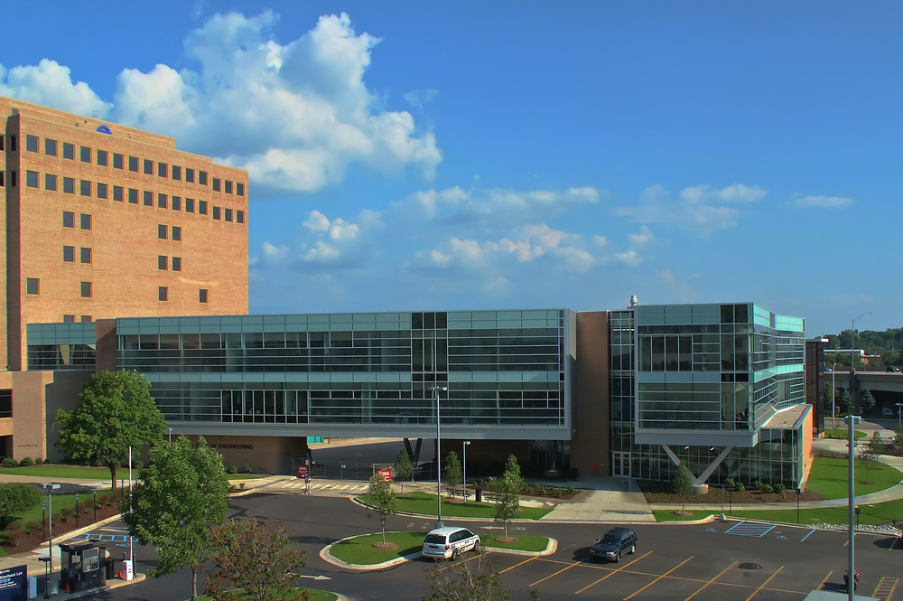 Gvsu john c kennedy hall of engineering architectural for Architects grand rapids mi