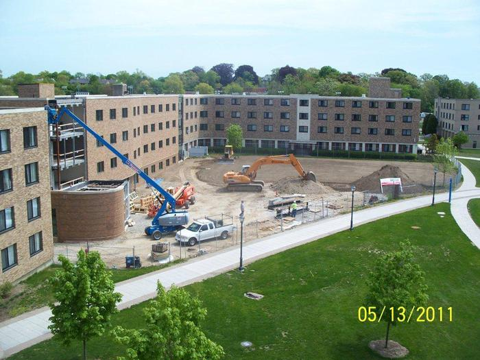 Fairfield University New Residence Hall Building