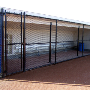 GVSU Laker Softball Dugouts
