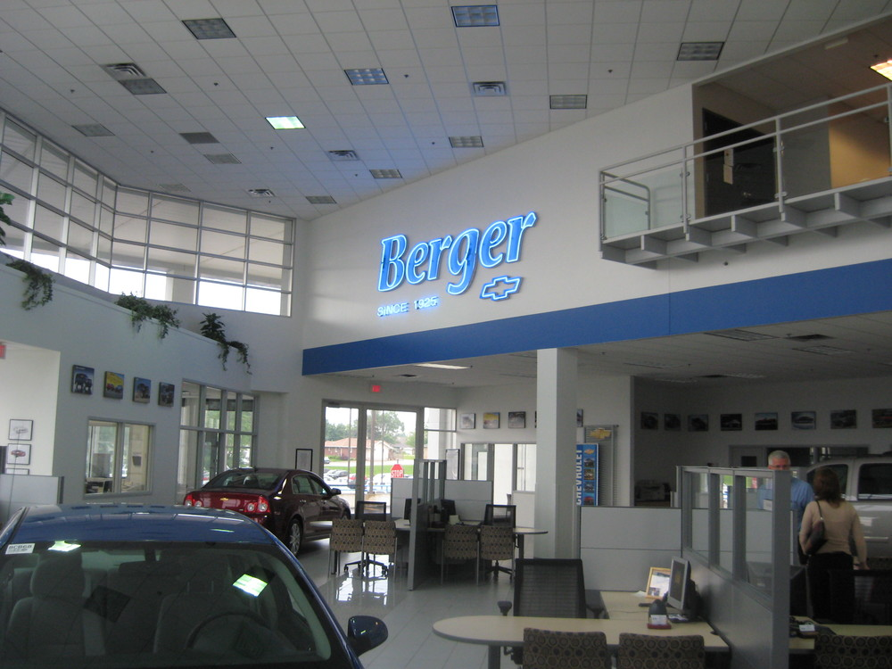 Berger Chevrolet Omega Architects Project Presenter