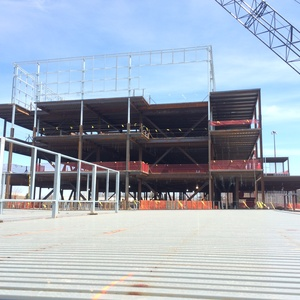 Grand Valley State University, Lab and Science Building (Structural Steel)