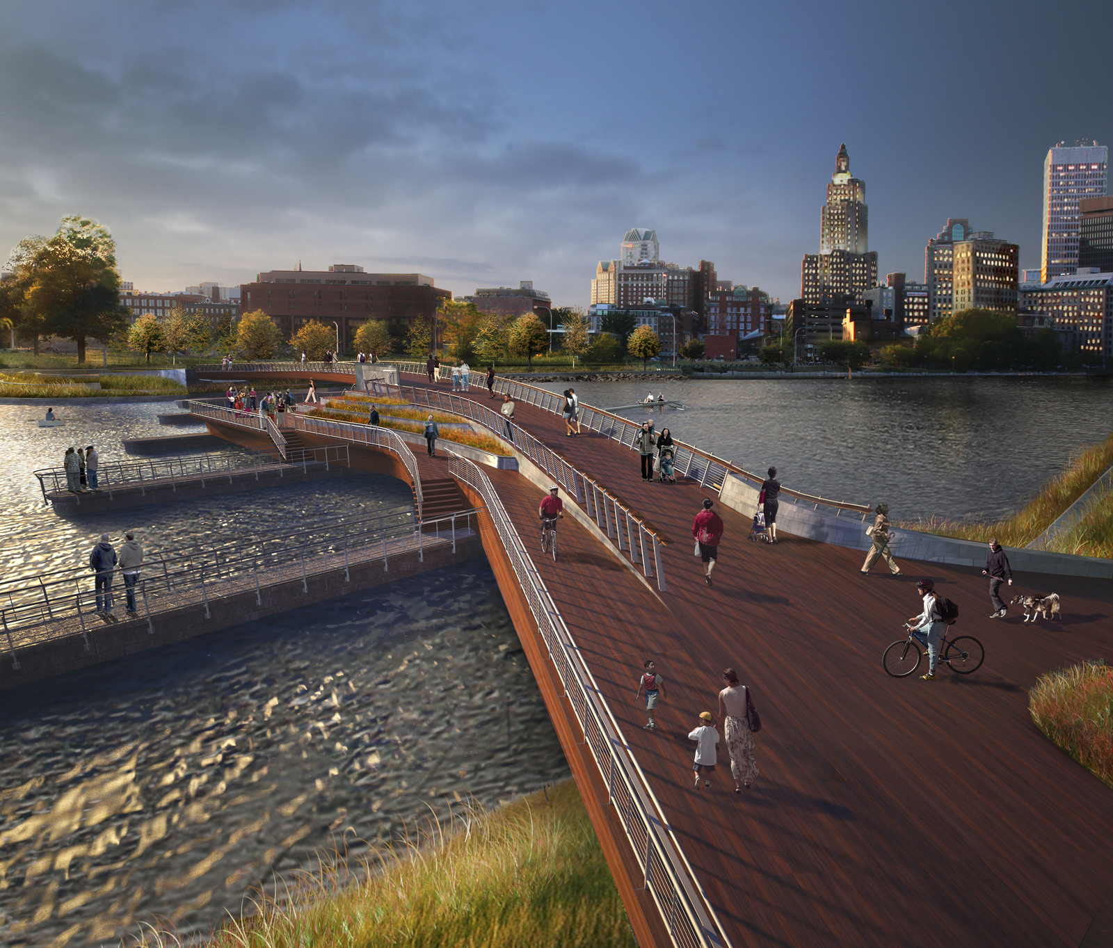 Photo for Providence Pedestrian Bridge