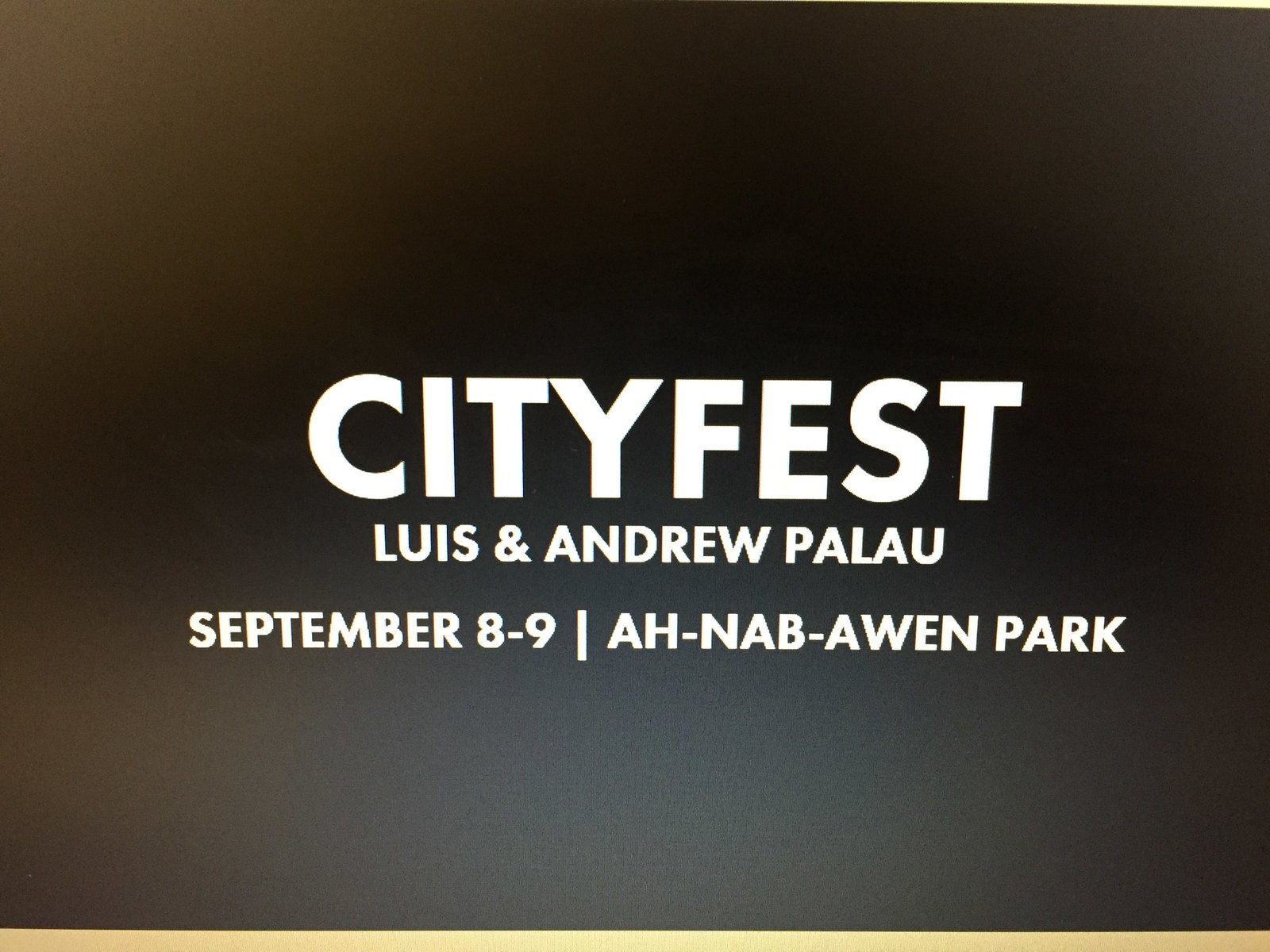 Photo for CityFest 2018
