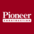Logo for Pioneer Construction