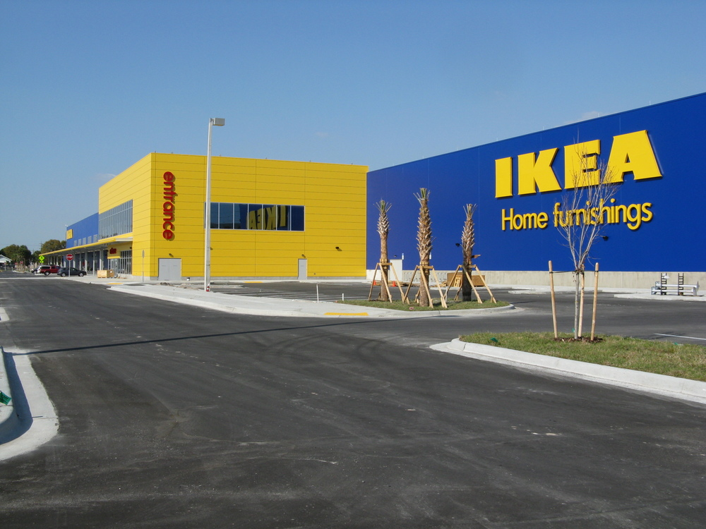 Projects williams company tampa project presenter for Ikea meubles orlando floride