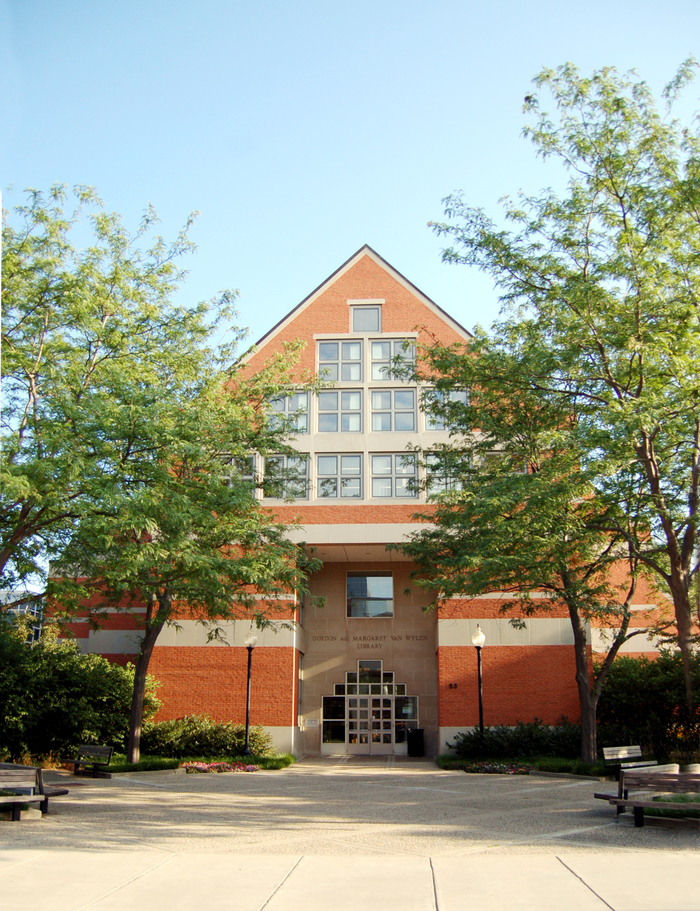 Hope College Van Wylen Library Projects Pioneer Construction