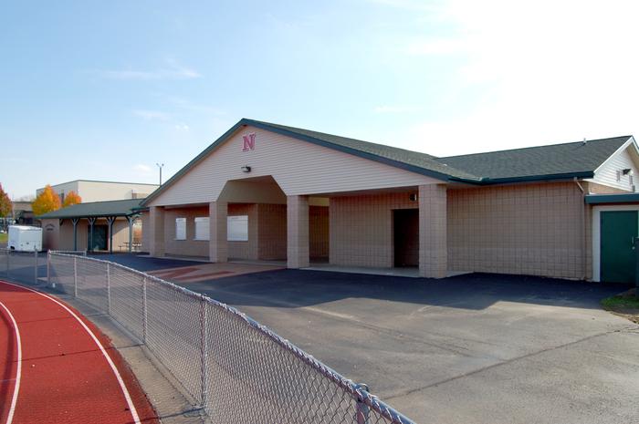 Northview High School Concession Stand Portfolio Fence