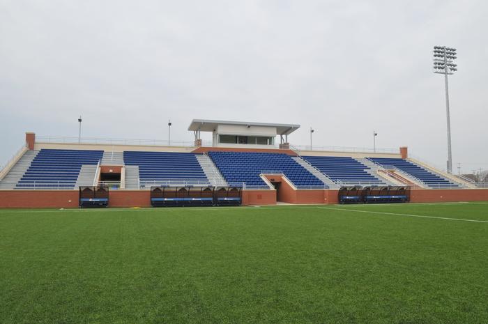 Hope College Van Andel Soccer Stadium Portfolio Fence