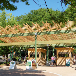 John Ball Zoo Entrance Canopy