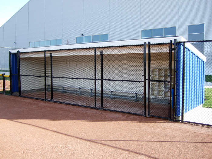how to build a baseball dugout